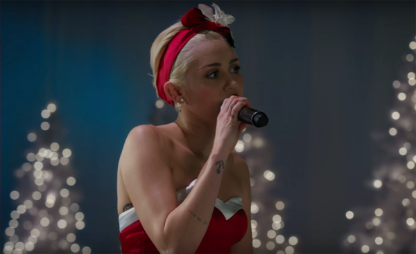 Holy Hell, Miley Cyrus Will Take Your Breath Away With Her Rendition Of 'SilentNight'