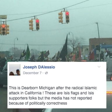 Conservatives Are Throwing A Shitfit Over This 'Pro-ISIS Rally' That's Actually Muslims Protesting Against Terrorism