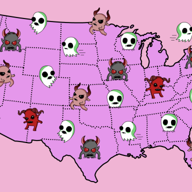 Here Is The Most Haunted Location In Every State