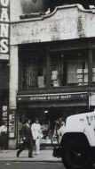 Gotham Book Mart from street