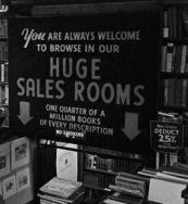 gotham book mart sign inside