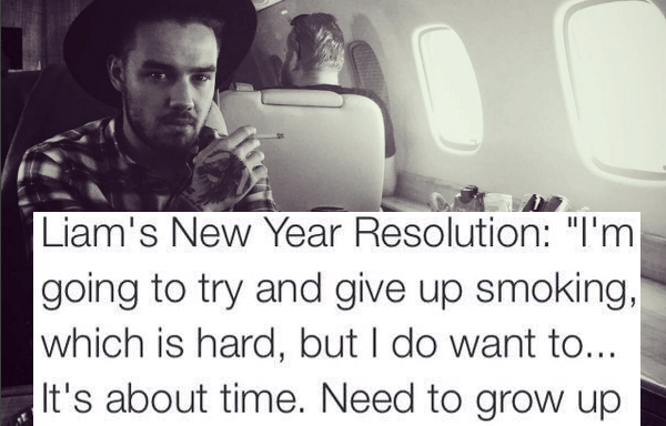 Best Fans Ever? Thousands Tweet Support For Liam Payne's Goal Of QuittingSmoking