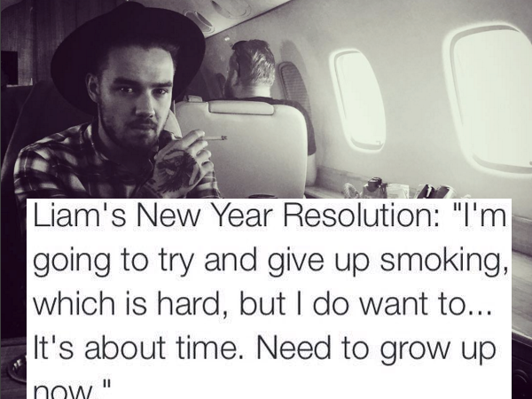 Best Fans Ever? Thousands Tweet Support For Liam Payne's Goal Of Quitting Smoking