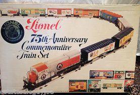 lionel train set 1975