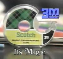 scotch tape it's magic