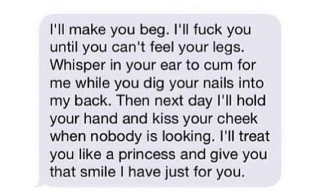 18 Dirty Text Messages That Will Make You Ready To Have Sex RightNow