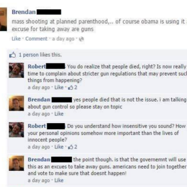13 Posts That Prove This Feud Between 'Brendan' And 'Robert' Is The Most Hilarious Facebook Fight Ever