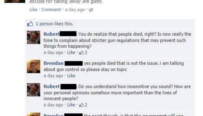 13 Posts That Prove This Feud Between 'Brendan' And 'Robert' Is The Most Hilarious Facebook FightEver