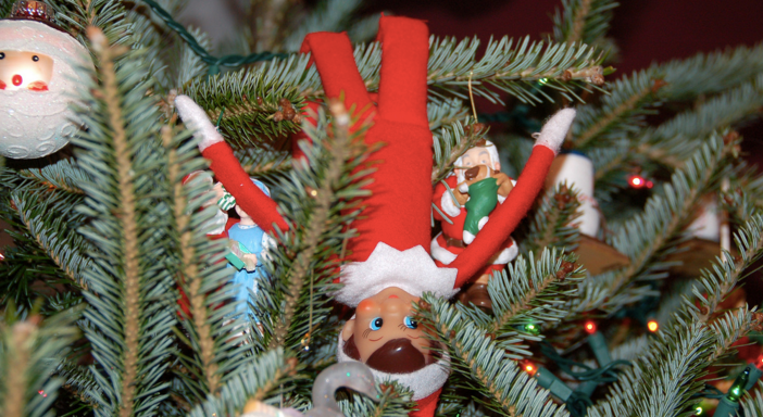20 Creative Ideas For Your Elf On The Shelf, Which Obviously Represents The Police State