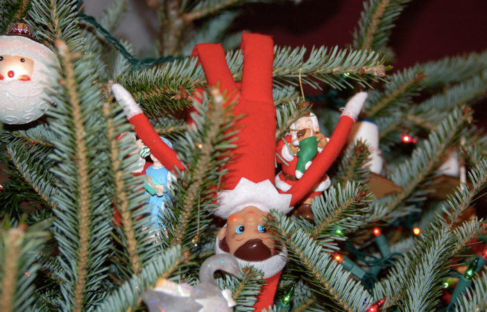 20 Creative Ideas For Your Elf On The Shelf, Which Obviously Represents The PoliceState