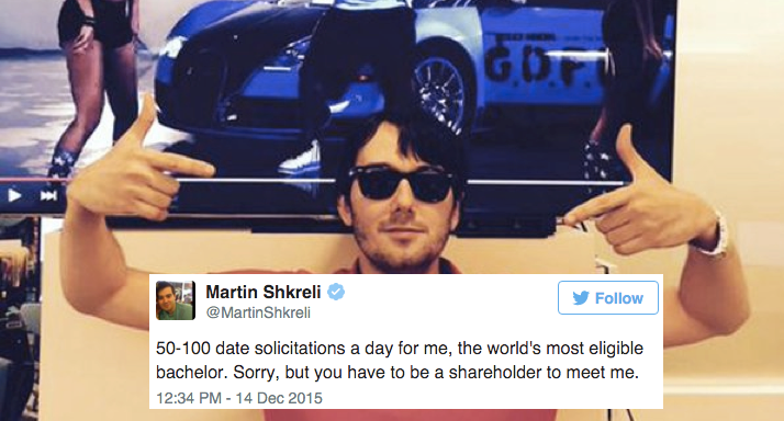 14 Tweets From Martin Shkreli That Are Somehow As Terrible As HeIs