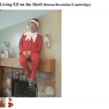 Man Sells Himself On Craigslist As Real Life 'Elf On The Shelf'