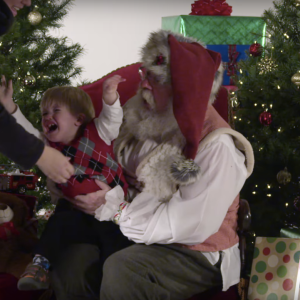 Babies Crying In Slow Motion With Santa Are Saying What We're All Feeling This Christmas
