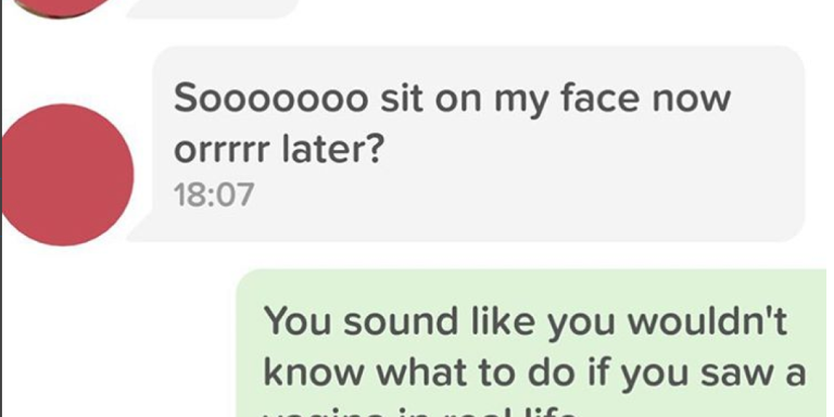 19 Hilarious Tinder Exchanges That Prove How Fucked Up Online Dating ReallyIs