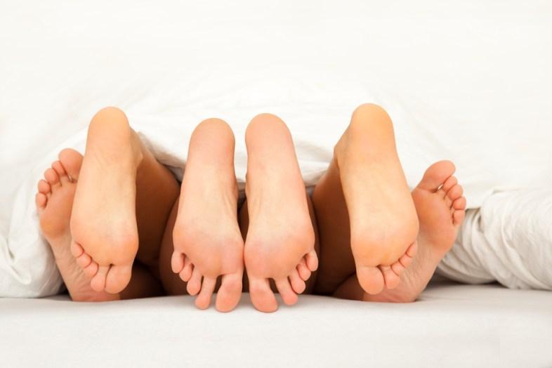 Threesome. Shutterstock.
