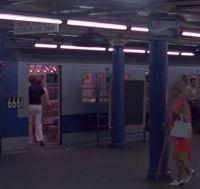 subway station train