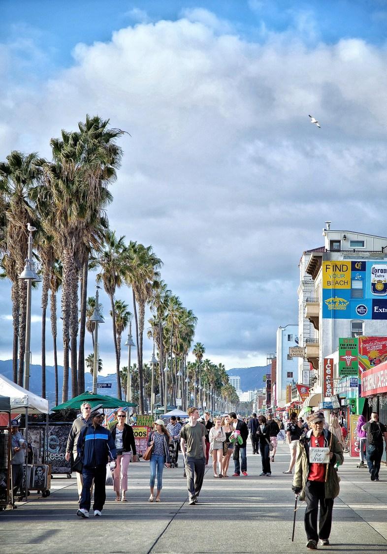 1. Venice Beach Boardwalk