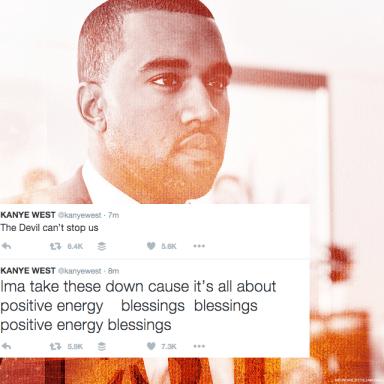 Kanye Vs. Wiz Khalifa Was Going Down On Twitter, But Now Kanye Has Found Jesus