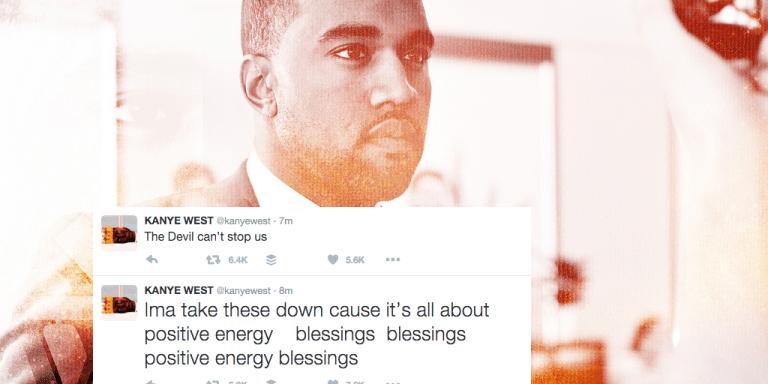 Kanye Vs. Wiz Khalifa Was Going Down On Twitter, But Now Kanye Has FoundJesus