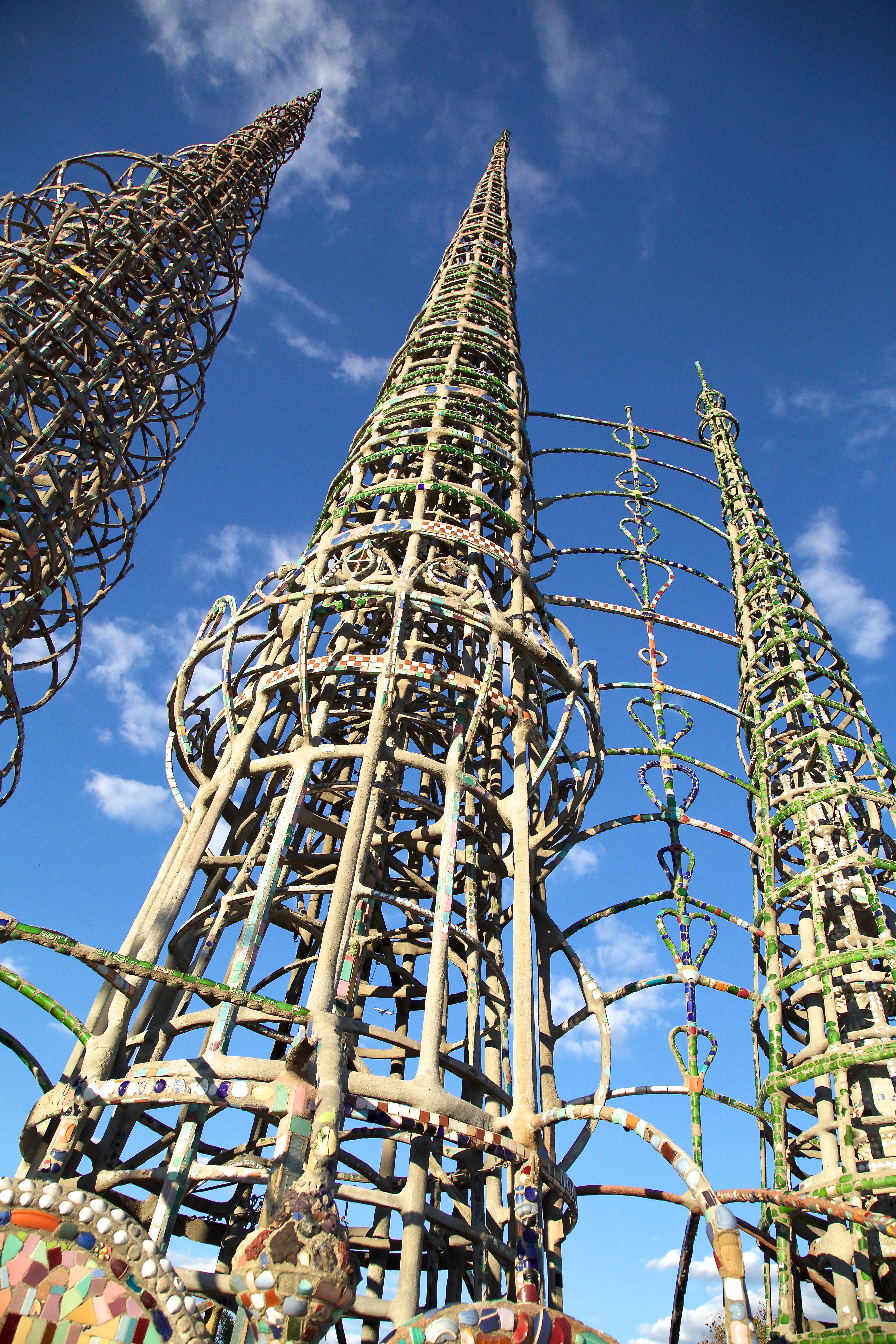 8. Watts Towers