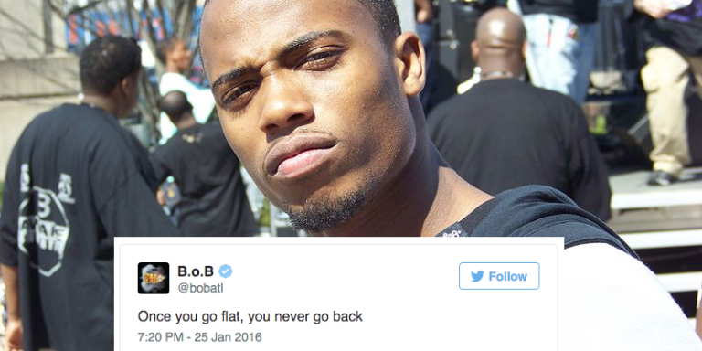 26 Tweets From Rapper B.o.B. That Prove (In His Mind) That The Earth Is ActuallyFlat
