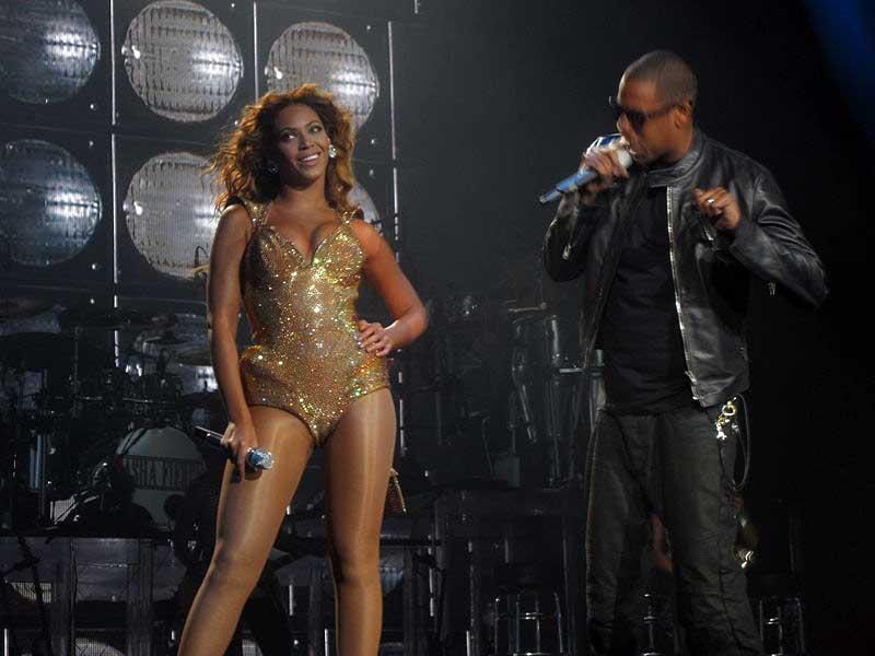 Beyoncé and Jay-Z. (Wikimedia Commons)