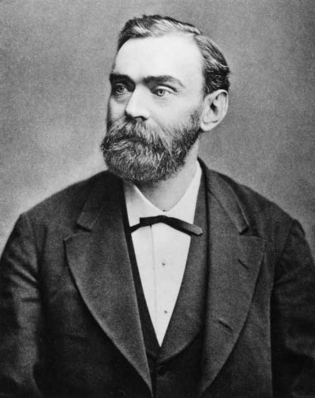 Alfred Nobel. (Wikimedia Commons)
