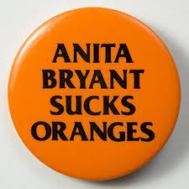 Anita Bryant sucks oranges