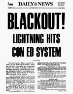 blackout daily news