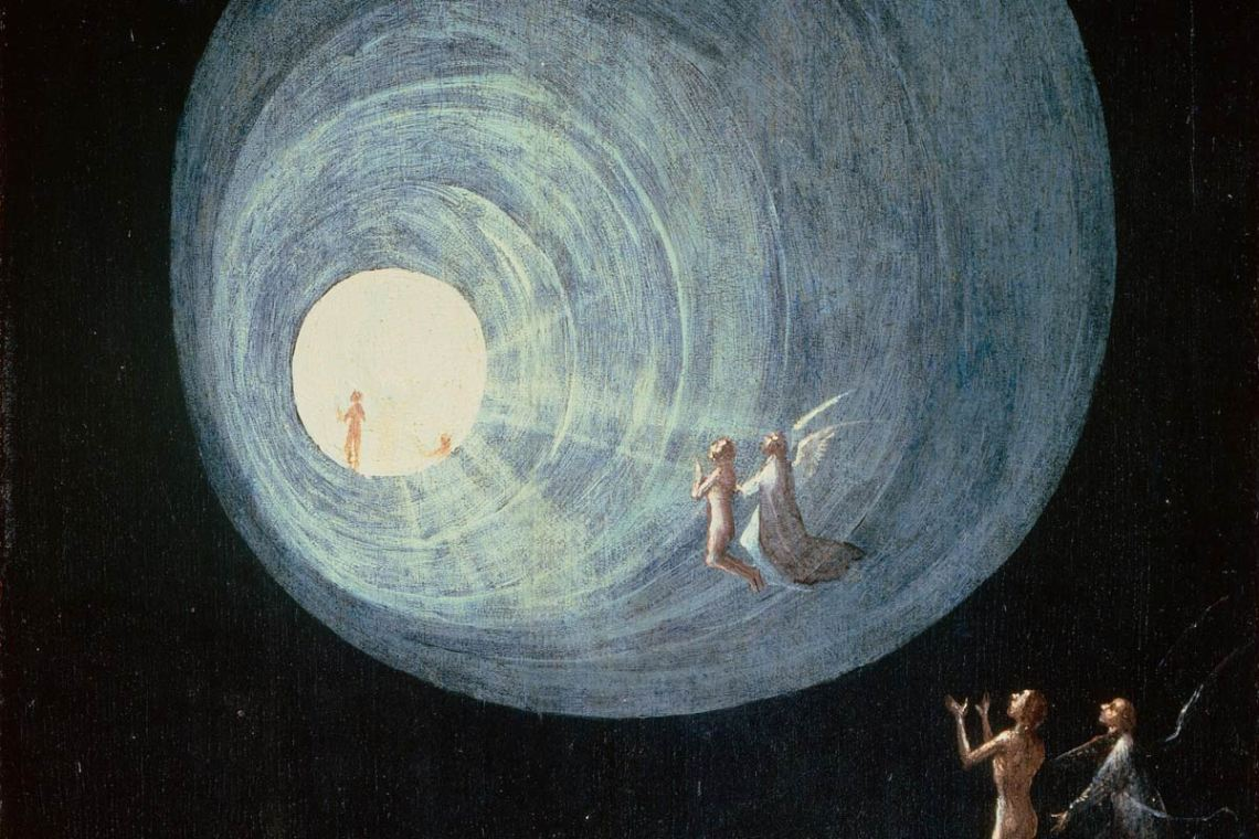 Ascent of the Blessed by Hieronymus Bosch, c. 1500-1504. (Wikimedia Commons)