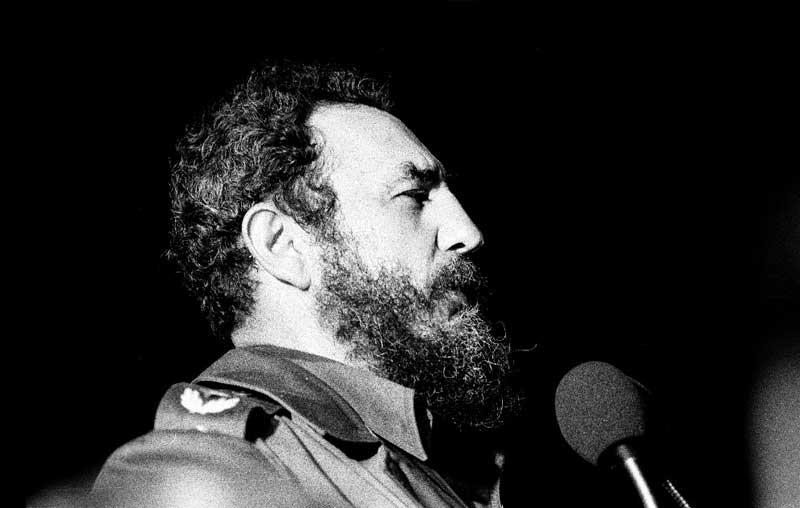 Fidel Castro. (Wikimedia Commons)