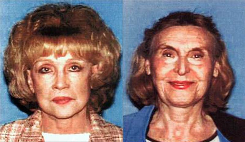 Helen Golay (left) and Olga Rutterschmidt. (LAPD)