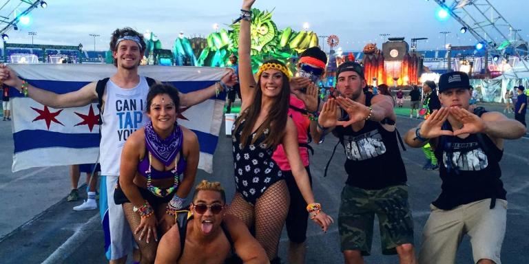 12 Incredible Things You Experience When You Go To Electric Daisy Carnival(EDC)