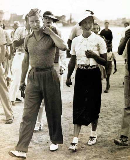 King Edward VIII and Wallis Simpson. (Wikimedia Commons)