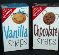 late june 1977 vanilla snaps chocolate snaps