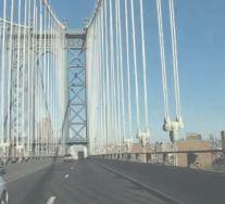 Manhattan Bridge driving