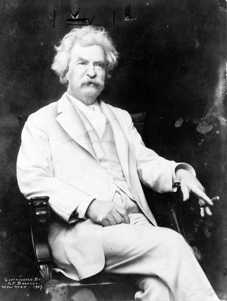 Mark Twain. (Wikimedia Commons)