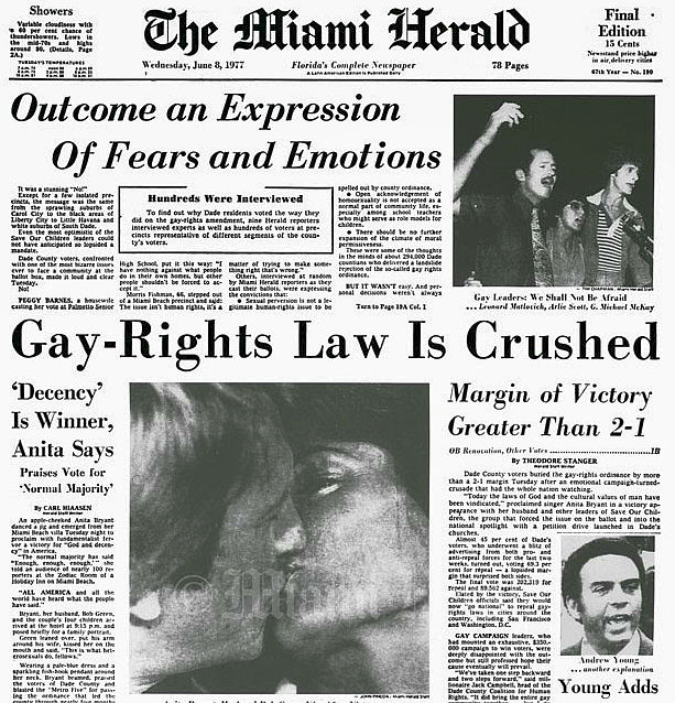 Miami Herald Gay Rights