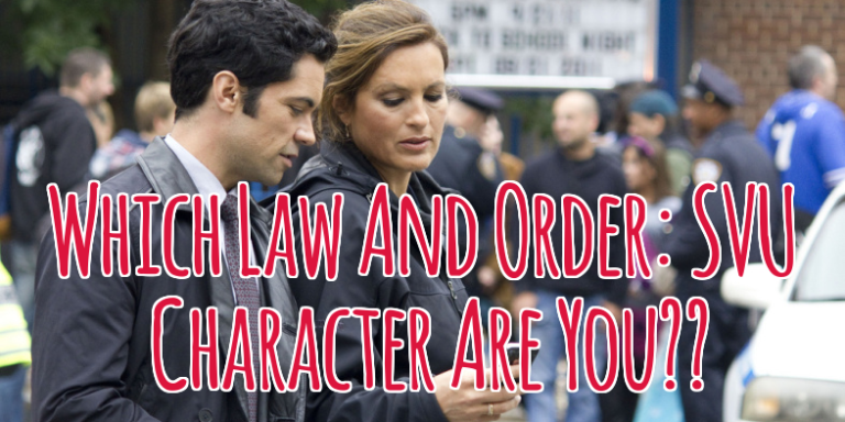 Quiz: Which 'Law And Order: SVU' Detective AreYou?