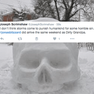 26 Hilarious Tweets And Pictures From People Trapped In The #JonasBlizzard
