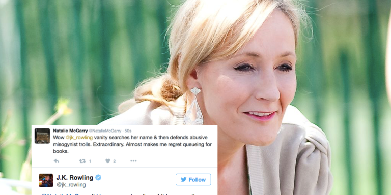 UK Politician Accuses JK Rowling Of Supporting 'Misogynist Trolls' And Geez, That Was AMistake!