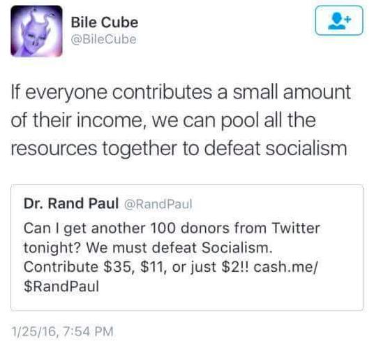 Facebook / Bernie Sanders' Dank Meme Stash
