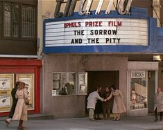 sorrow and the pity annie hall