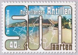 St Maarten 1977 Sint Maarten Island stamp