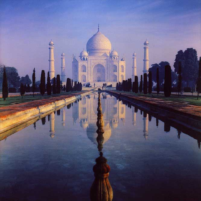 The Taj Mahal. (Wikimedia Commons)