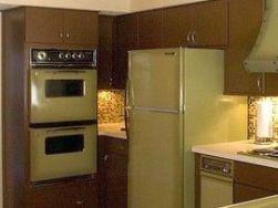 1978 kitchen olive