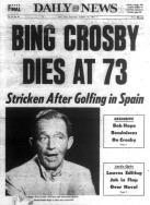 Bing Crosby Dead