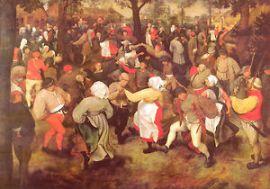 bruegel wedding dance