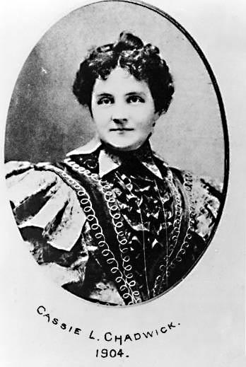 Cassie Chadwick. (Wikimedia Commons)