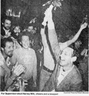 Harvey Milk elected